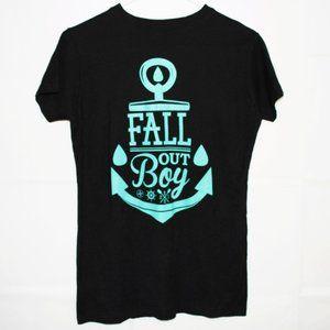 Fall Out Boy Anchor T Shirt 2010 Manhead Size L